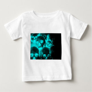 Blue Skull Glow Tee Shirt