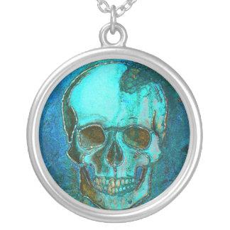 Blue Skull Pendants