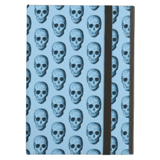 Blue Skull Pattern. iPad Air Case