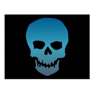 Blue Skull Postcard