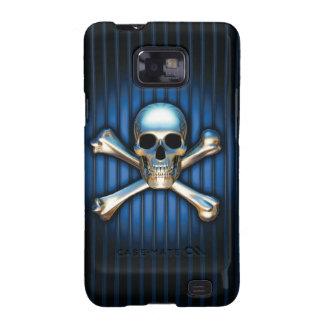 Blue Skull Samsung Galaxy Case Galaxy SII Cover
