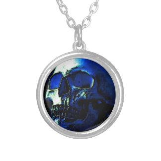 Blue Skull Selbst Gestalteter Schmuck