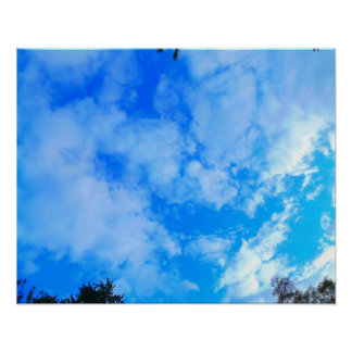 "Blue Sky 20"" x 16"", Value Poster Paper (Matte)"