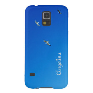 Blue Sky and Gulls Cornwall Photograph Case For Galaxy S5