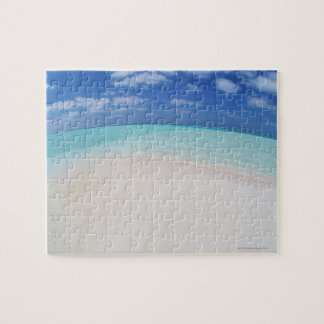 Blue sky and sea 10 jigsaw puzzle