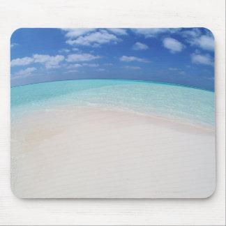 Blue sky and sea 10 mouse pad