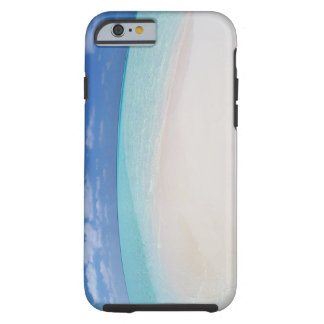 Blue sky and sea 10 tough iPhone 6 case
