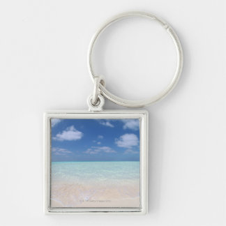 Blue sky and sea 11 key ring