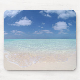 Blue sky and sea 11 mouse mat