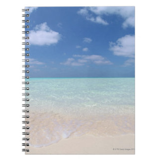 Blue sky and sea 11 notebook