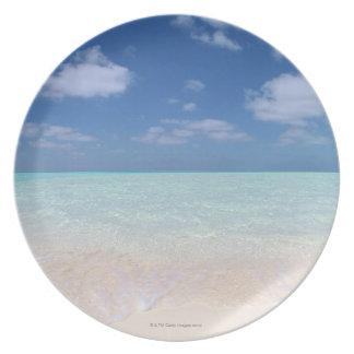 Blue sky and sea 11 plate