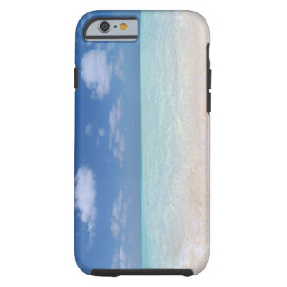 Blue sky and sea 11 tough iPhone 6 case