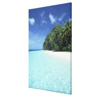 Blue sky and sea 12 canvas print