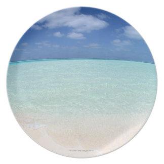 Blue sky and sea 12 plate