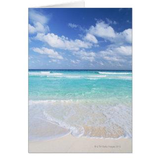 Blue sky and sea 13 card