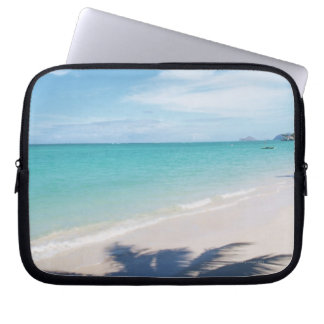 Blue sky and sea 15 laptop sleeve