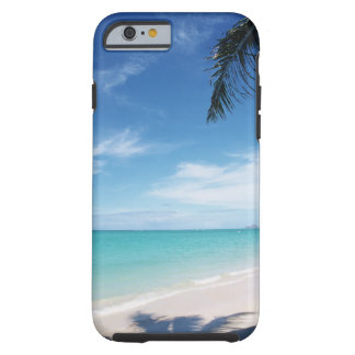 Blue sky and sea 15 tough iPhone 6 case
