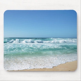 Blue sky and sea 18 mouse mat