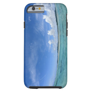 Blue sky and sea 3 tough iPhone 6 case