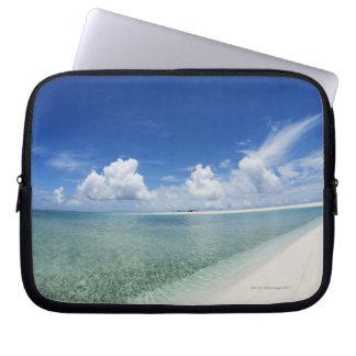 Blue sky and sea 4 computer sleeve