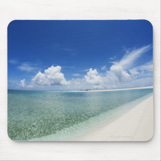Blue sky and sea 4 mouse mat