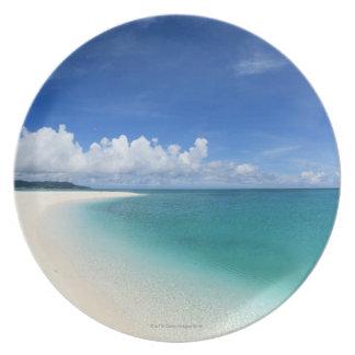 Blue sky and sea 7 plate