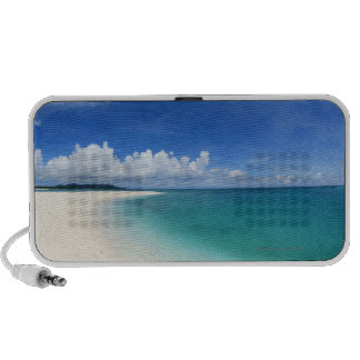 Blue sky and sea 7 travel speakers