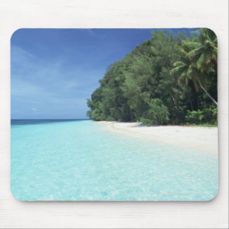 Blue sky and sea 8 mouse mat