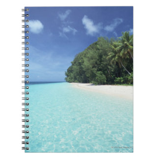 Blue sky and sea 8 notebook