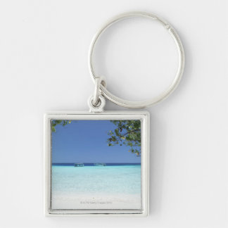 Blue sky and sea 9 key ring