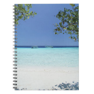 Blue sky and sea 9 notebook