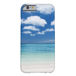 Blue sky and sea barely there iPhone 6 case