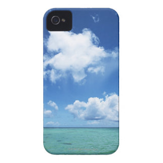 Blue Sky and the Sea iPhone 4 Cover