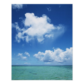Blue Sky and the Sea Poster