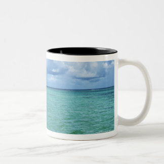 Blue Sky and the Sea Two-Tone Coffee Mug