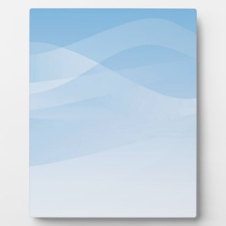 Blue Sky Background Plaque