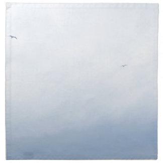 Blue Sky Birds Napkin