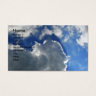 Blue Sky Business Card