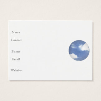 BLUE SKY BUSINESS CARD