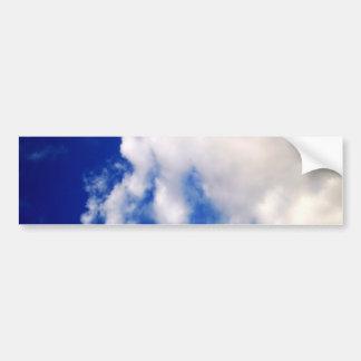 Blue Sky & Clouds Bumper Sticker