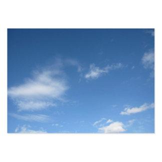 Blue Sky & Clouds Business Card Templates