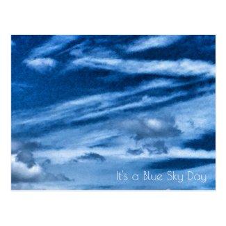 Blue Sky Day Postcard