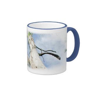 Blue Sky Dead Tree Coffee Mug