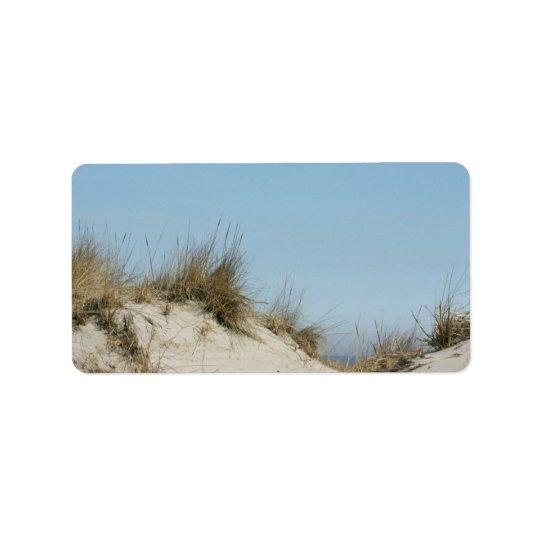 Blue Sky & Dunes Address Labels