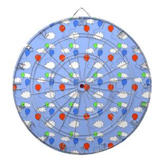 blue sky, free balloons dartboard