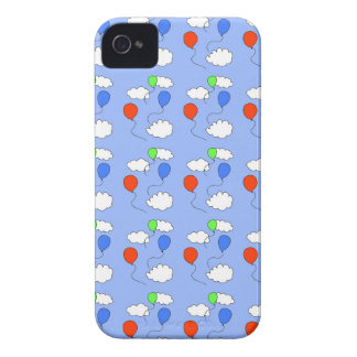 blue sky, free balloons iPhone 4 cases