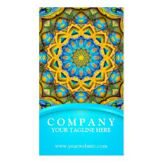 Blue sky golden cornfield mandala blue pack of standard business