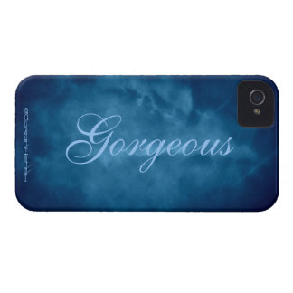 Blue Sky Gorgeous iPhone 4 Cover