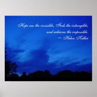 Blue Sky Hope Poster