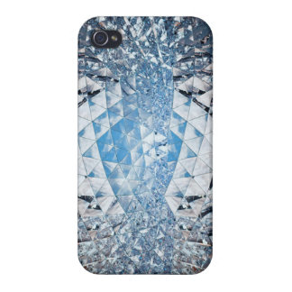 Blue Sky in Crystals iPhone 4 Case